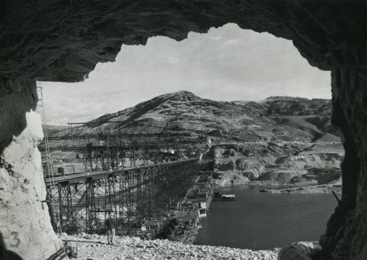 Grand Coulee Dam circa 1938